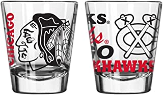 Chicago Blackhawks Official NHL 2 fl. oz. Spirit Shot Glass