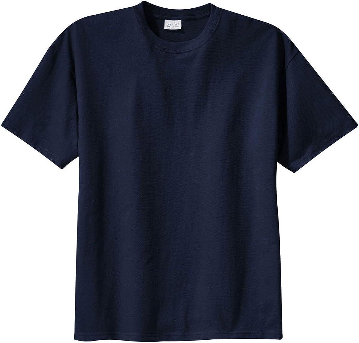 Port & Company Tall 100% Cotton Essential TShirt PC61T, Navy