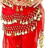 Turkish Emporium Niño Niños Niñas Infantil Disfraz de chifón de danza del vientre cadera bufanda