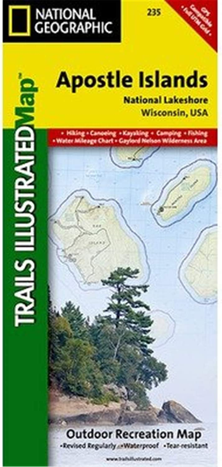 NATIONAL Year-end gift GEOGRAPHIC Map: Apostle Quantity limited Islands #235