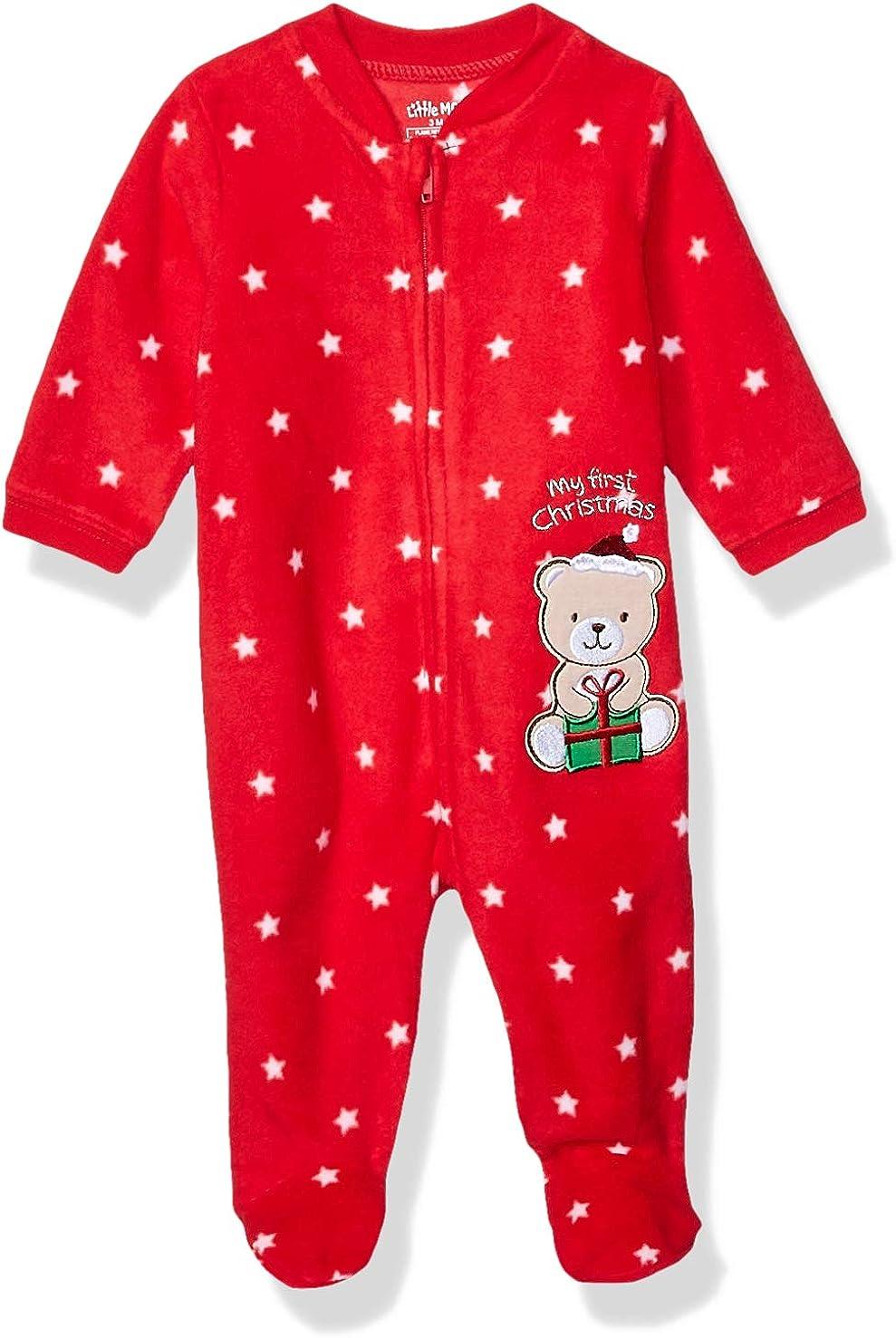Little Me Baby Holiday Blanket Sleeper