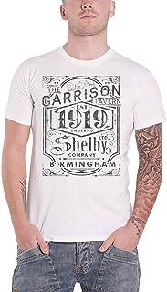 公式 Peaky Blinders T Shirt Garrison Pub Est 1919 Distressed Logo 新しい メンズ