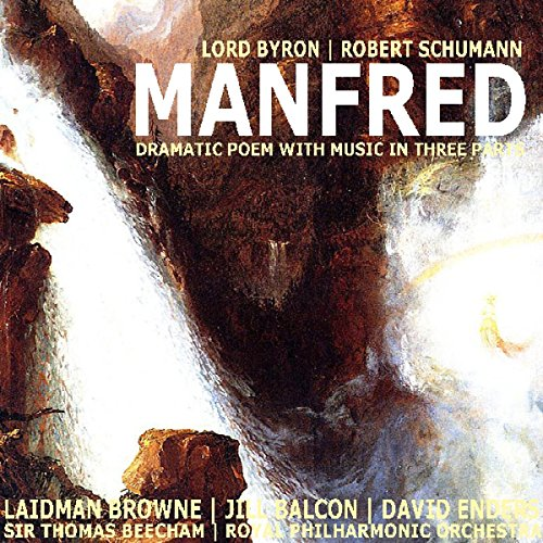 Manfred: Dramatic Poem with Music in Three Parts audiobook cover art