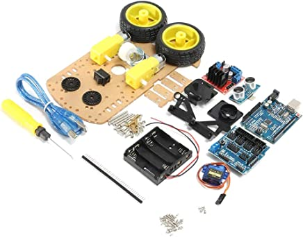 D2-1 Intelligent Intelligent Trcking Capteur Suiveur De Ligne Module Module D/évitement Dobstacle Pour Arduino R/éflectance Optique Robot Voiture Couleur: Noir