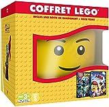 Coffret Lego - Batman Le Film + Lego La Grande Aventure [Tête de rangement LEGO]
