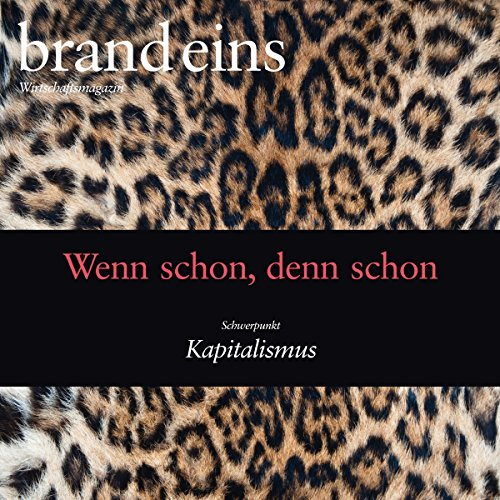 brand eins audio: Kapitalismus audiobook cover art