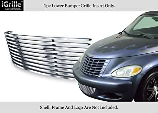 APS Compatible with 2000-2005 Chrysler PT Cruiser Bumper Stainless Steel Billet Grille Insert S18-C37566R