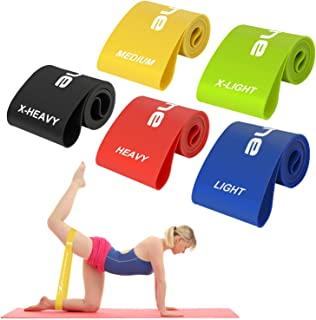 Scotamalone Resistance Loop Bands, Resistance Exercise Bands for Home Fitness, Stretching, Strength Training, Physical The...