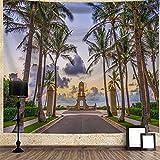 Tapiz De Impresión De Paisaje Forestal, Decoración De La Pared del Hogar, Colgante De Pared, Pintura De Fondo para Dormitorio150*130cm