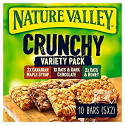 Nature Valley Crunchy Variety Pack Bars, 5 x 42g