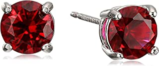 Best blood red ruby earrings Reviews