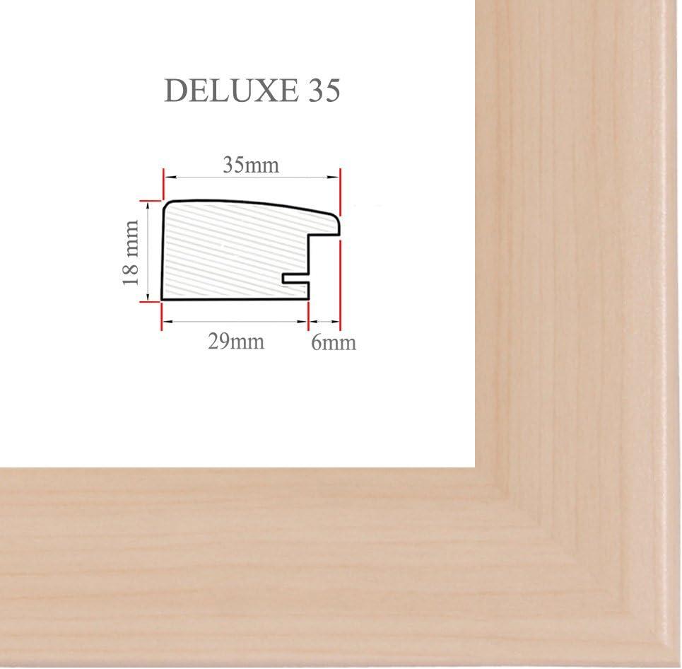 DELUXE35 Bilderrahmen 61x69 cm oder 69x61 cm Foto//Galerie//Posterrahmen