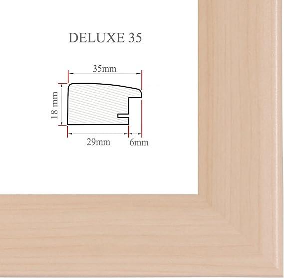 DELUXE35 Bilderrahmen 33x102 cm oder 102x33 cm Foto//Galerie//Posterrahmen