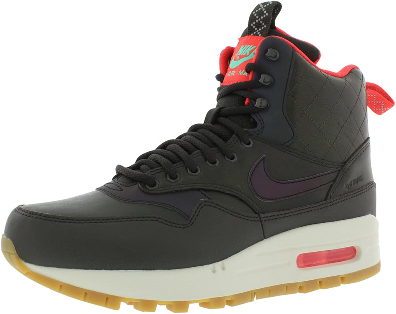 Nike WMNS Air Max 1 Mid Sneakerboot Reflect Women Lifestyle Sneakers New Sequoia - 6