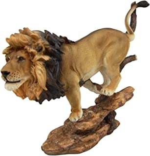 Atlantic Collectibles African King Lion Figurine 11.25