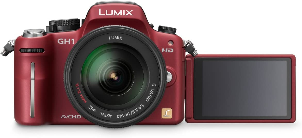 Panasonic Lumix Dmc Gh1keg9r Systemkamera Rot Mit Kamera