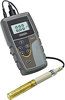 Oakton WD-35604-00 Model CON 6+ Handheld Conductivity Meter with Probe, Fluid_Ounces, Degree C, Plastic, (