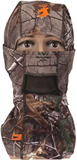 SPIKA Camo Balaclava Hunting Hood Headwear Military Tactical Helmet Face Mask for Cold and Cool Weather