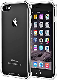 """iBarbe Clear Cover for iPhone 6 6s, Protective Shell Shockproof Heavy Duty TPU Bumper Case Anti-Scratches Extreme Protection Cover Heavy Duty Case for iPhone 6 6S 4.7"""""""