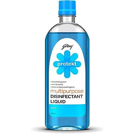 Godrej Protekt Multipurpose Disinfectant Liquid Aqua 500ml