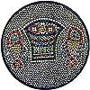 聖地市場Tabgha奇跡のパンと魚アルメニアのセラミックプレートMeduim II 6.4インチまたは16cm