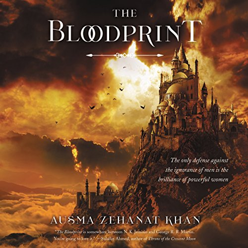The Bloodprint audiobook cover art