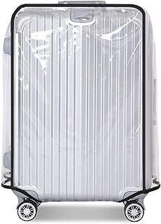 XJYA Cas Protecteur de Bagages Couverture de Bagages en PVC Housse de Protection Valise Housse de Valise Transparente Protecteurs 18-32 Pouces Couverture de Bagages pour Valise /à roulettes