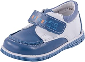 Kotofey Baby Boy Blue Sandals 022066-22 Genuine Leather Orthopedic Sandals with Arch Support