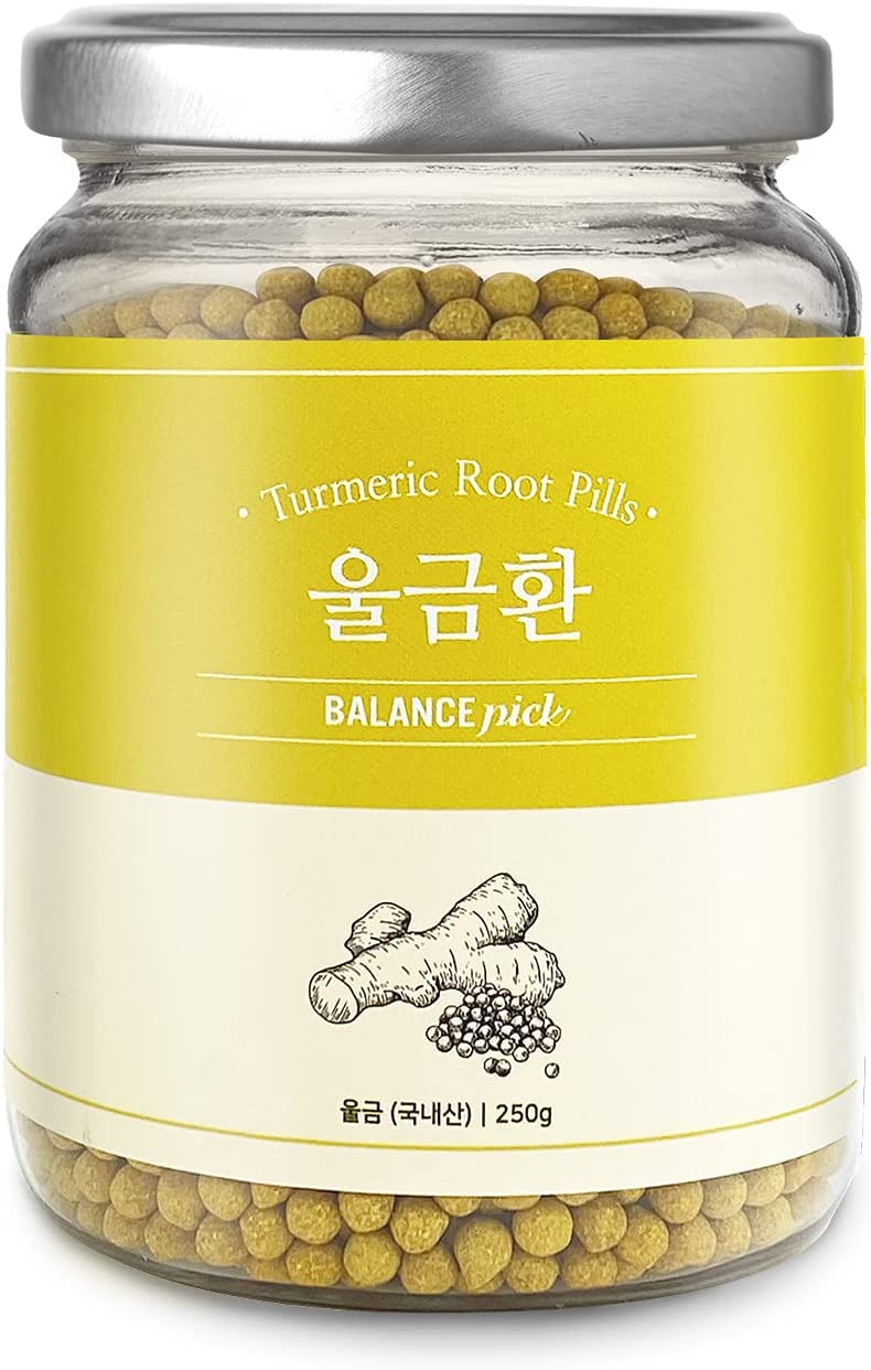 Balance Pick High material Natural Turmeric Root Product of 8.8oz Korea Recommended Pills