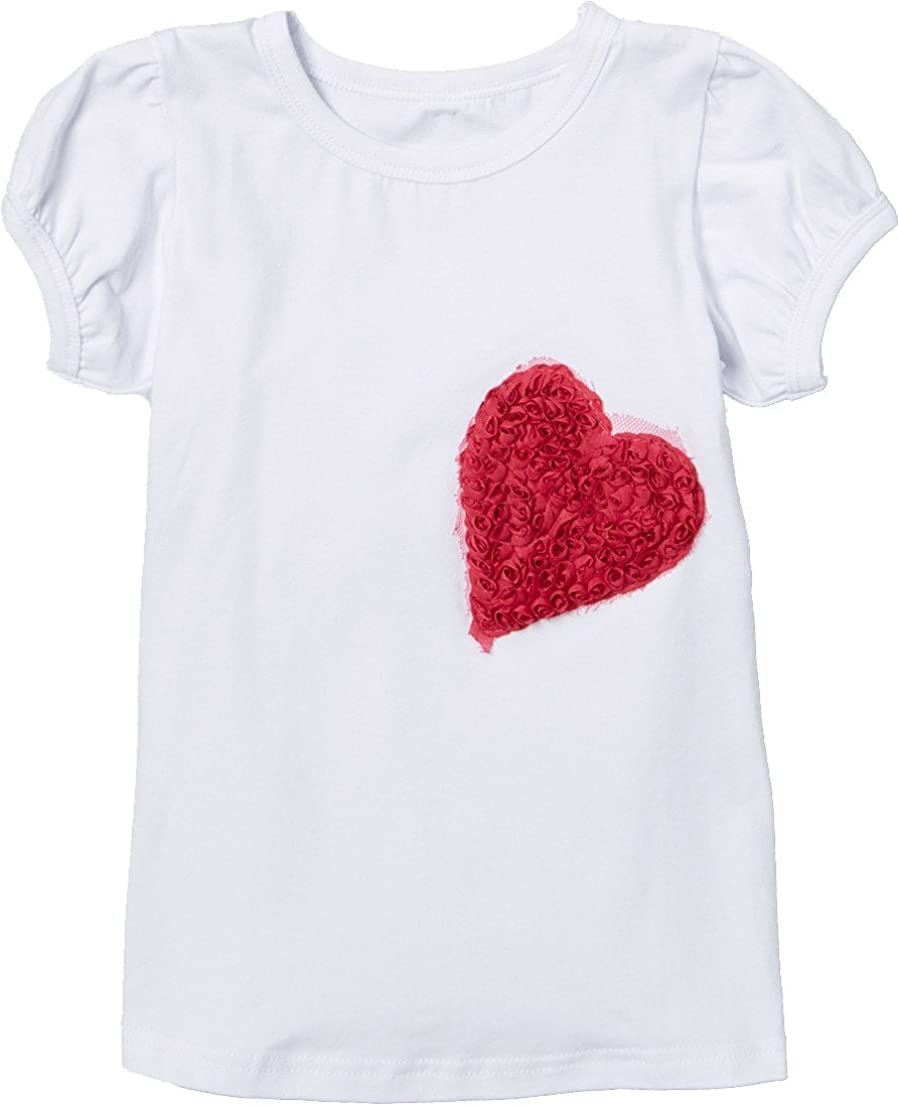 wenchoice Girl's White Heart Tee