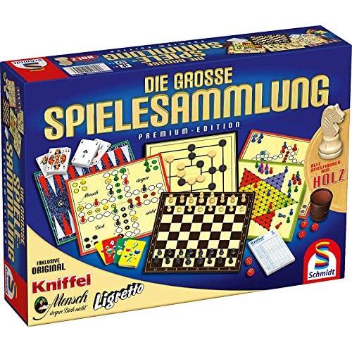 Schmidt 49125 - Die große Spielesammlung - Premium Edition - [Importato da Germania]