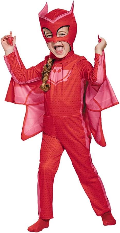 Horror-Shop PJ Masks Owlette Traje Clásico para Niños 2 Jahre ...