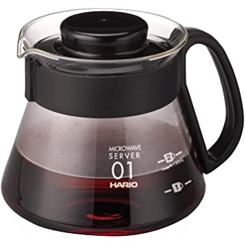 HARIO (ハリオ) V60 レンジサーバー 360ml XVD-36B ブラック