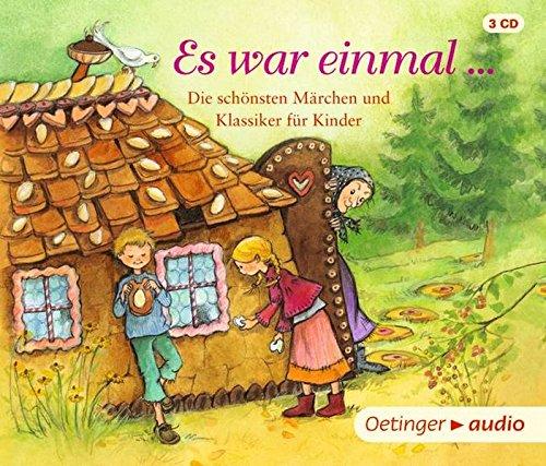 Es war einmal …: Die schönsten Märchen und Klassiker für Kinder (3 CD)
