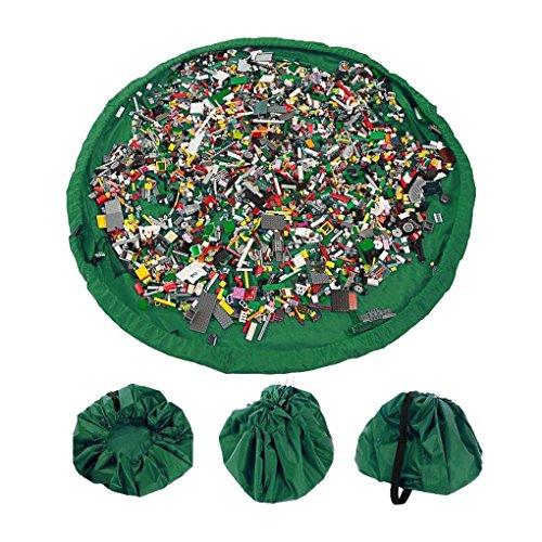 Toocoo Bolsa de Almacenamiento Duplo y Juguetes para niños Bolsa Rápidamente Limpieza Organizador Del Almacenaje Multiusos Portátil al Aire Libre 150cm