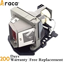 Araca for DELL 1210S /725-10193/317-2531 Replacement Projector Lamp with Housing