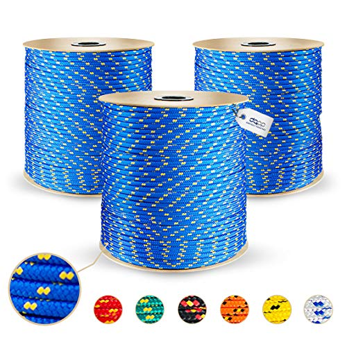 10m blu corda in polipropilene poly 5mm