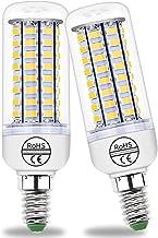 E14 7W/12W/15W/18W/20W/25W LED Light Bulb, 360 ° stralingshoek Edison Corn Lamp, 25W Cool White 6000K, 2300LM, 250W Gloeil...