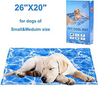 Waterproof /& Scratchproof self-Cooling pet Mat washable for Summer WISFORBEST Large Pet gel Cooling Mat For Dogs