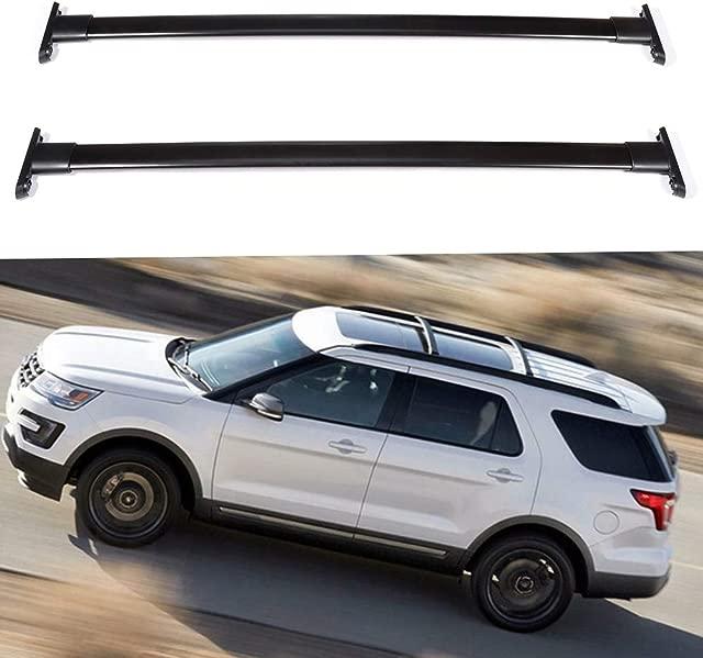 INEEDUP Cross Bars Roof Rack Fit For 2015-2019 Kia Sorento Sport Utility 4-door OE Style Bolt-On Roof Rack Rail Cross Bar Luggage Cargo Carrier,2-Pack