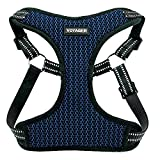 Voyager Step-In Flex Dog Harness - All Weather Mesh, Step In Adjustable Harness for Small and Medium Dogs by Best Pet Supplies - Royal Blue Base, Small