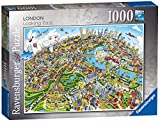 Bright, colourful and contemporary view of our capital city! High quality 1000 piece cardboard jigsaw puzzle The finished puzzle measures 70 x 50cm when complete. Suitable for ages 12 years and up. Made from strong premium grade cardboard, with linen...