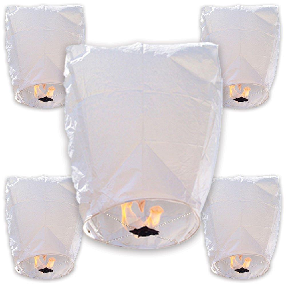 Just Artifacts Wire Free Chinese Lanterns