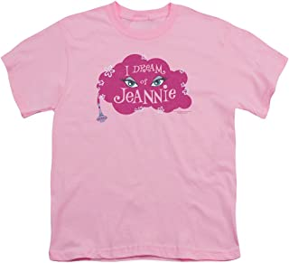 I Dream of Jeannie Magic Lamp Unisex Youth T Shirt for Boys and Girls