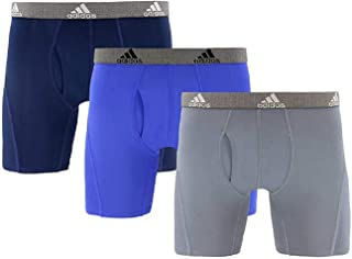 adidas Men's Relaxed Performance Quick Dry Climate Boxer Brief Underwear (3 Pack)