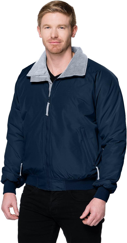 Tri-Mountain Men's 8800 Mountaineer Three Season Jacket Navy/Gray