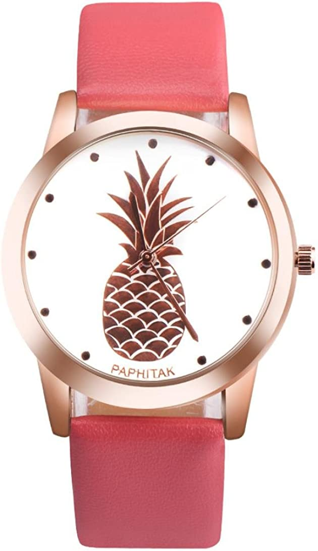 Balakie Some reservation Women's Watch Cute Ladies Teen Dia Girls Pineapple Tucson Mall
