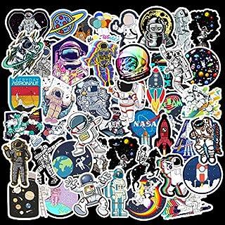 50pcs/lot Astronaut universe Stickers Classic Japan Anime Sticker Modern Popular Laptop Luggage Car Skateboard Phone
