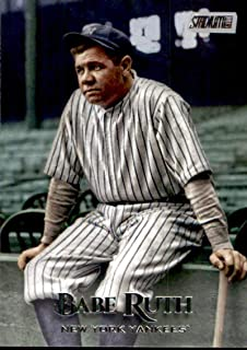 2019 Topps Stadium Club #259 Babe Ruth New York Yankees Baseball Card