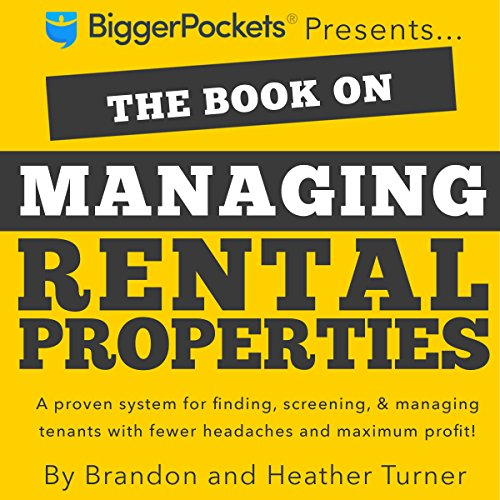 The Book on Managing Rental Properties audiobook cover art